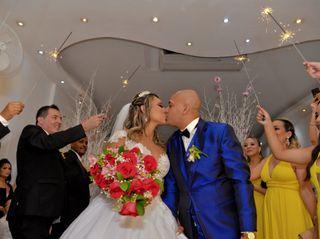 O casamento de Aline e Samuel