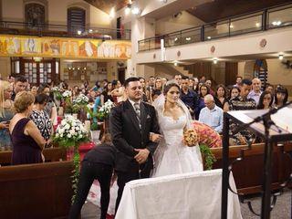 O casamento de Aline e Hilton
