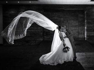 O casamento de Jaqueline e Warley