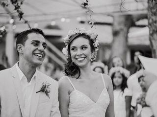 O casamento de Rafaela e Elton