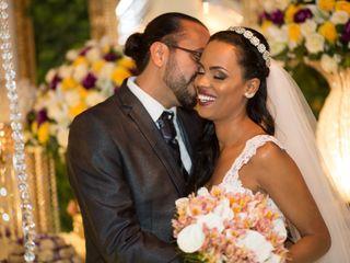 O casamento de Alexander e Flávia