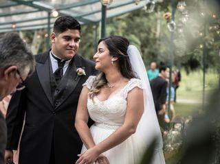 O casamento de Liliane e Júnior