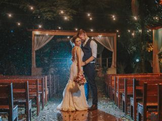 O casamento de Carina e Andre