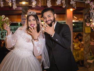 O casamento de Naftaly e Hernanes