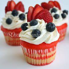 Cupcakes morango