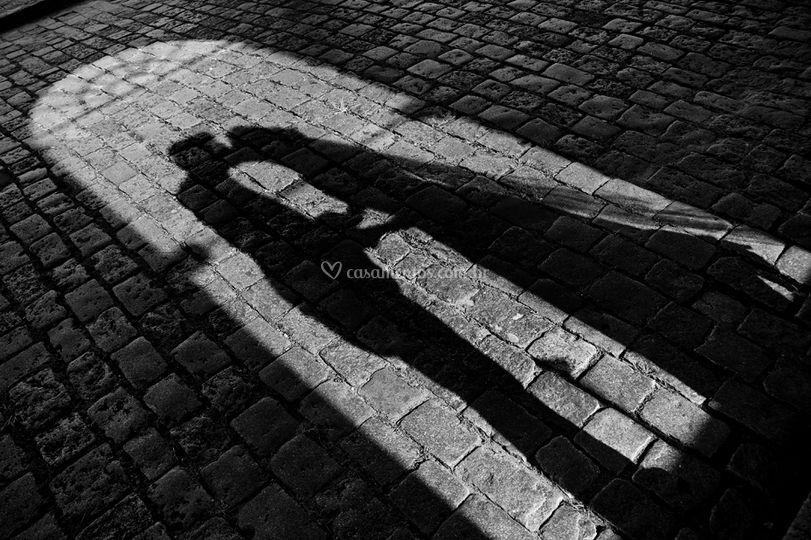 A sombra do amor...