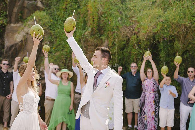 Brinde dos noivos- cerimonial