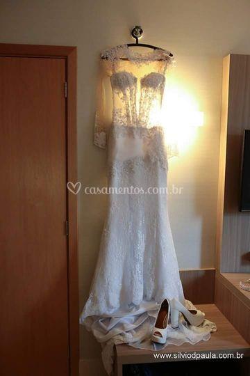 Vestido da noiva Luciana!