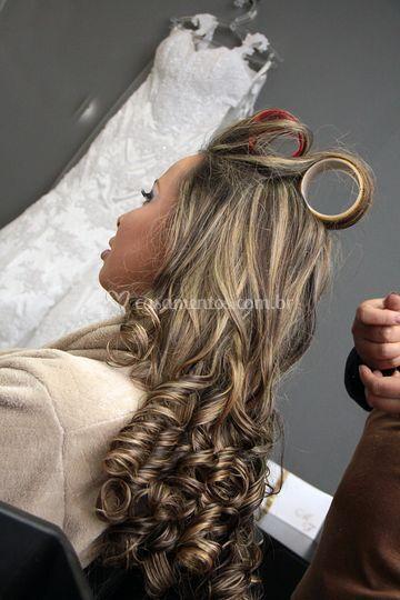 Urinoterapiya em uma perda do cabelo