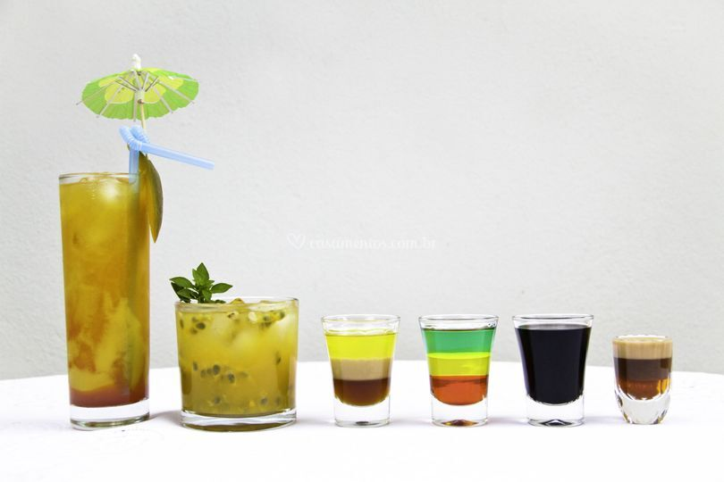 Conheça nossa carta de drinks