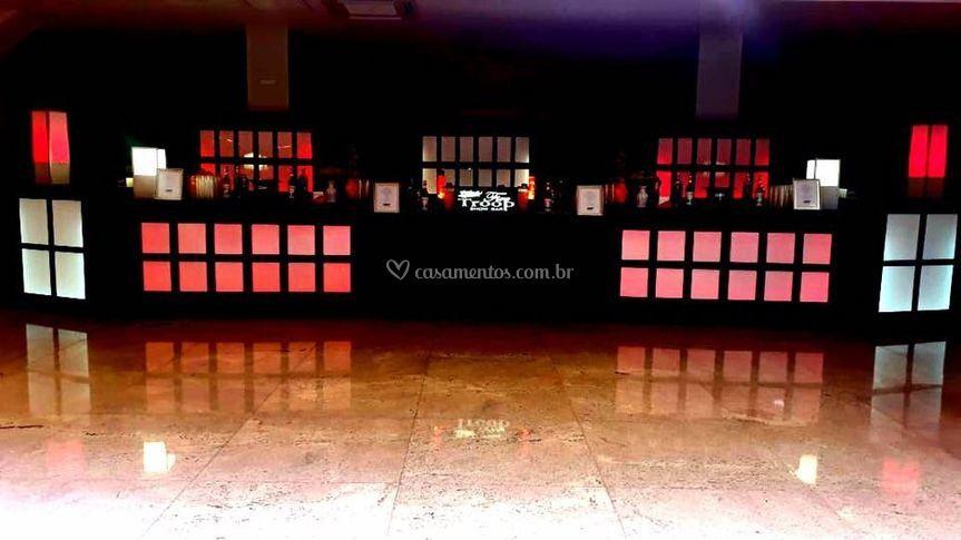 Fire Troop Show Bar