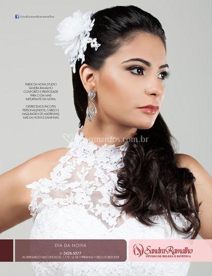 Foto revista noivas de minas