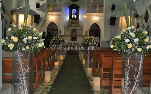 Cerimônia decorada