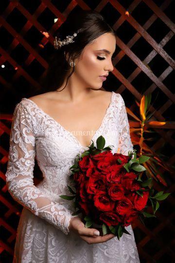Noiva e o Buque
