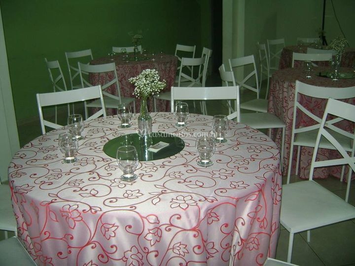 Hall decorado
