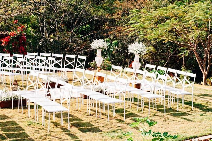 Expaço externo para casamentos