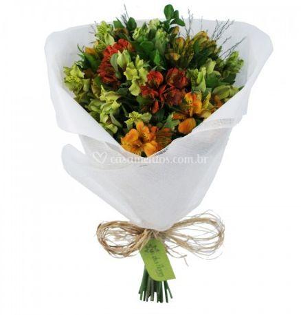 Bouquet de alstroemérias