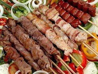 Variedade de carnes