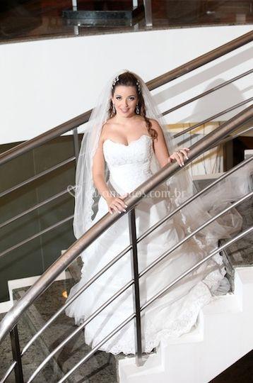 Noiva na escada