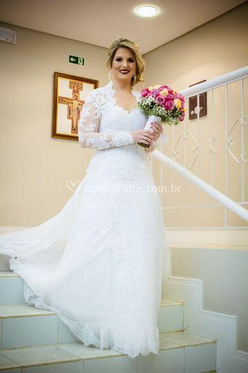 A beleza da noiva