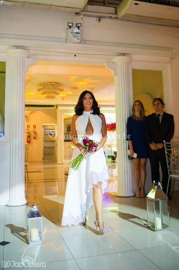 Entrada da noiva Roberta