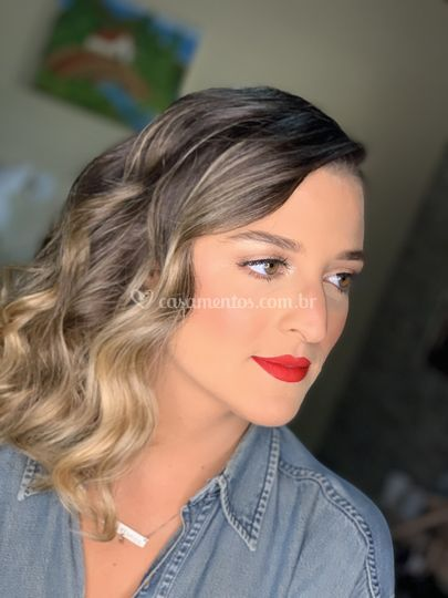 Maquiagem/penteado (madrinha)