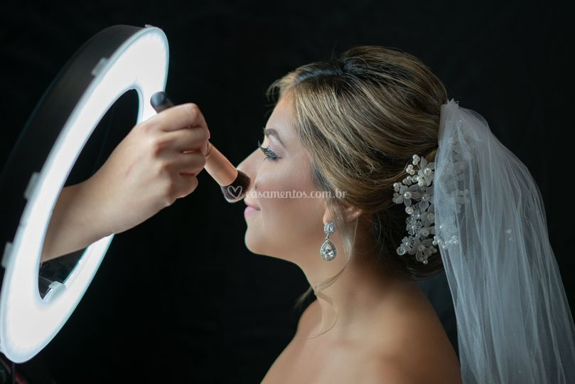 Making of da maquiagem