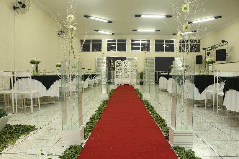 Cerimônias no local