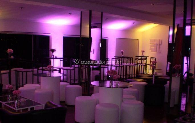 Lounge da Pista de Dança