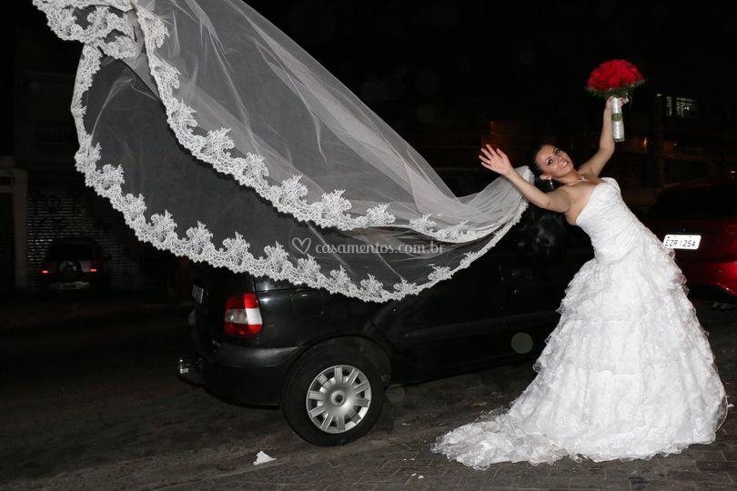 Noiva e fotos criativas