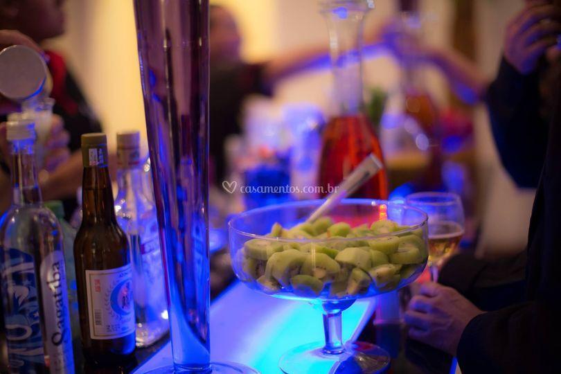 Bar Iluminado de Neo Bartenders