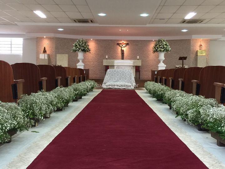 Cerimonial na igreja
