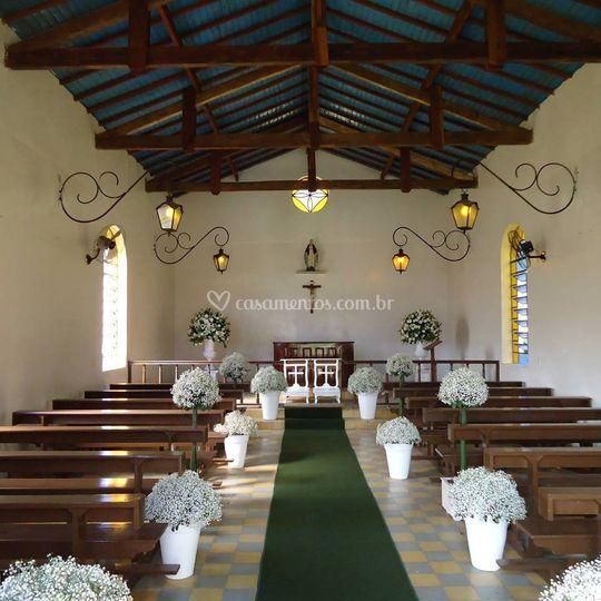 Capela para cerimônia