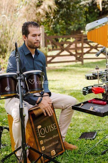 Percussão • Louise