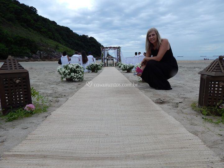 Amor, areia e mar