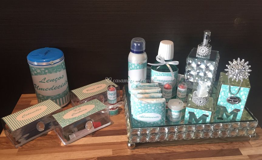 Kit Toillet Azul Tiffany