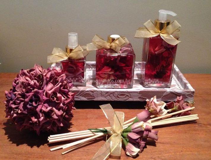 Kit Toillet Floral