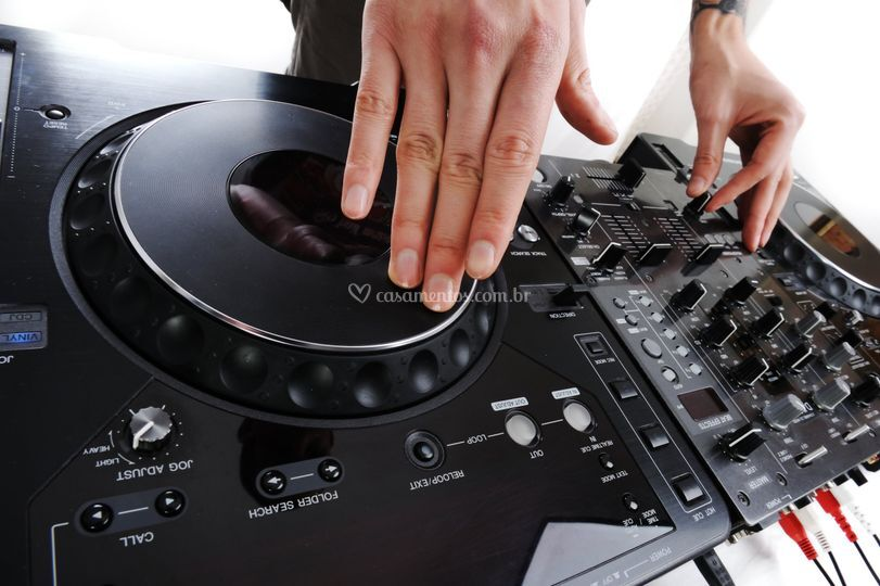 Equipamento do Dj