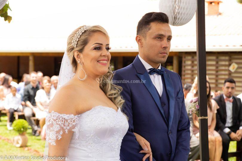Marcelo e Ana Paula