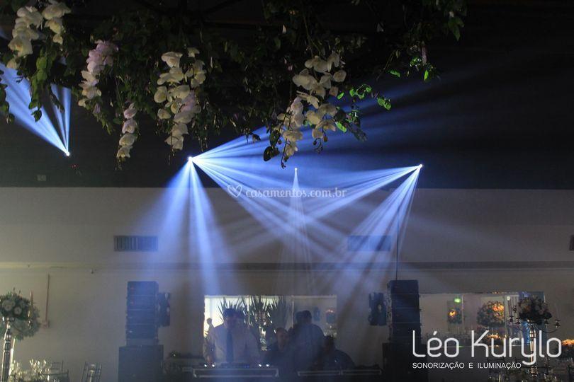 Iluminação Pista