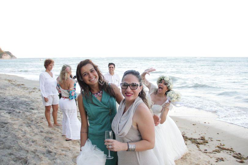 Noiva-Casamento na Praia