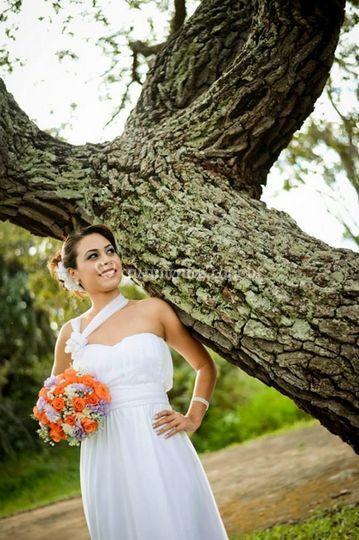 Vista da noiva