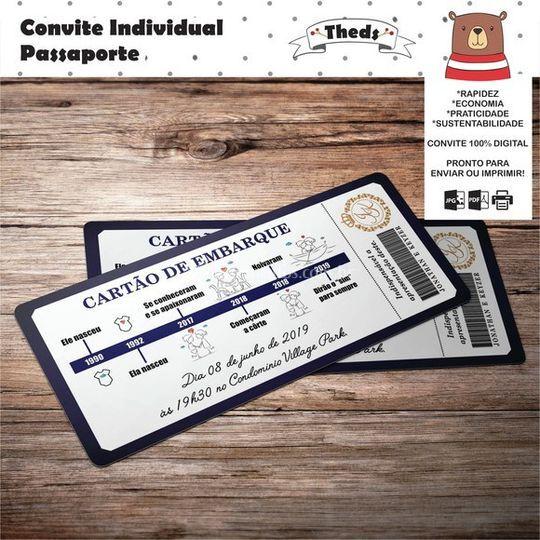 Convite Individual Passaporte