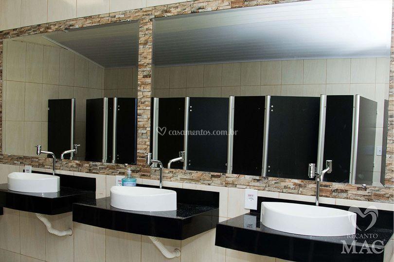 Banheiros sofisticados