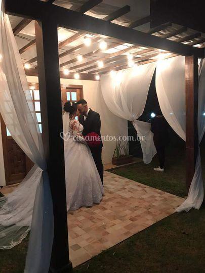 Saída quarto da noiva