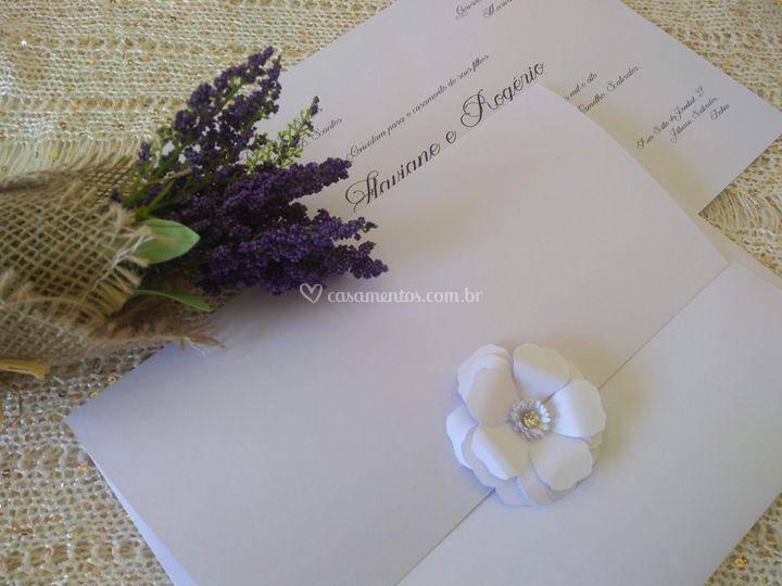 Convite Flaviane
