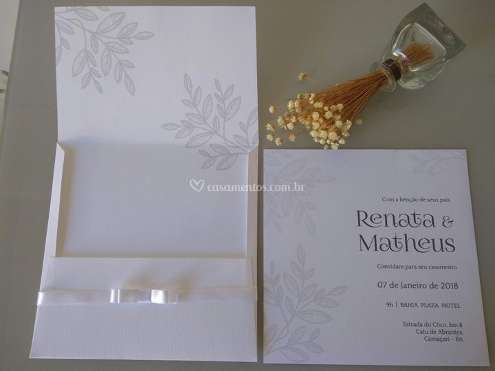 Convite Renata