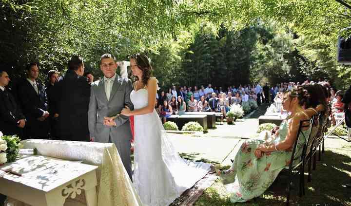 Cerimônia no segundo gramado