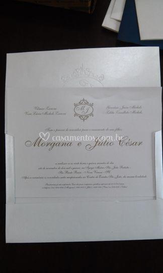 Convite impresso