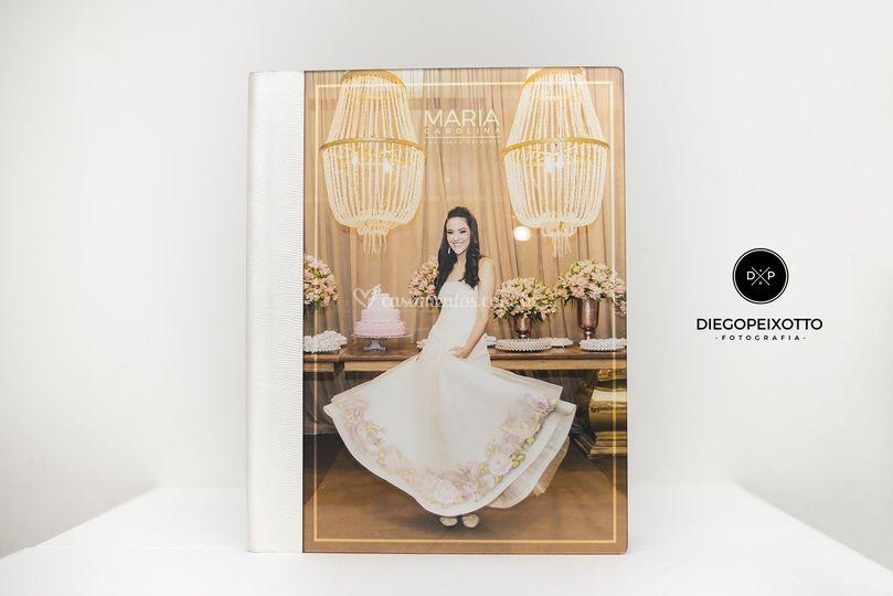 Álbum da linha acrylic